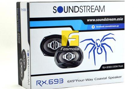 Soundstream RX.693 6x9 inch 4-way Coaxial Speaker