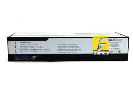 Soundstream SP.A604 4 Channel 480W Class AB Amplifier
