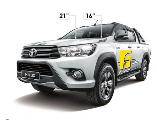 Wiper Length & Size for Toyota Hilux 2017