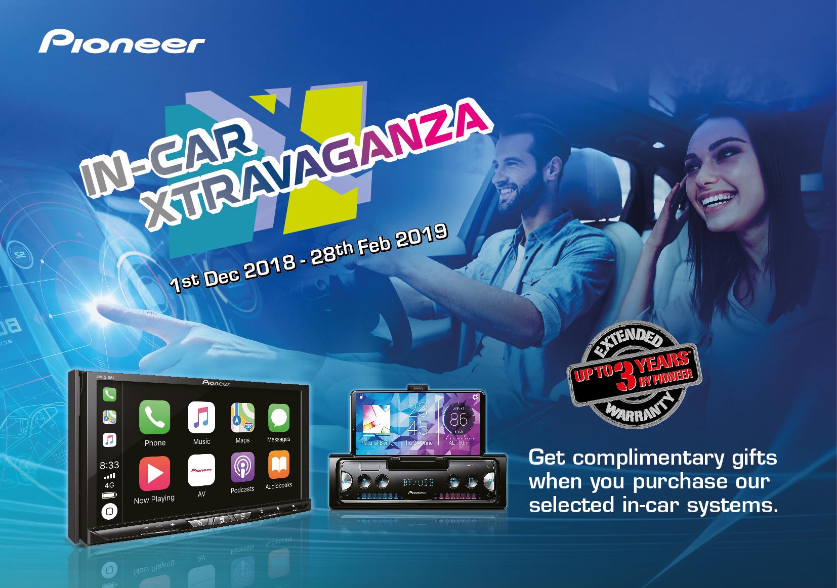 Pioneer In-Car Xtravaganza 2018 Promo Image