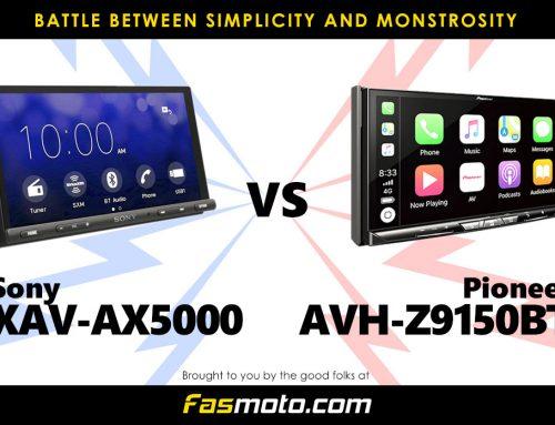 VERSUS: Sony XAV-AX5000 vs Pioneer AVH-Z9150BT