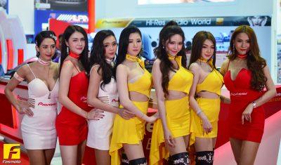 The Bangkok Motor Show 2019 - Show Girls - Rocket Sound & Pioneer