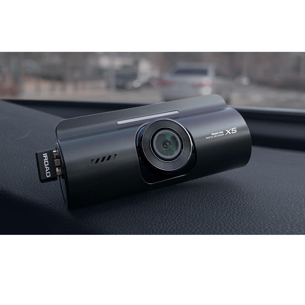 IROAD X5 Front and Back Dashcam Car Recorder DVR 1080p ADAS 30fps with CMOS Sensor