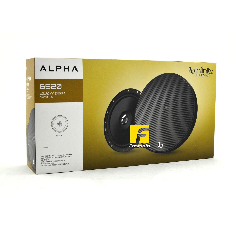 INFINITY Alpha 6520 6-inch 2-Way Speakers 40W RMS, 280W Peak