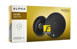INFINITY Alpha 6530 6-inch 3-Way Speakers 40W RMS, 290W Peak
