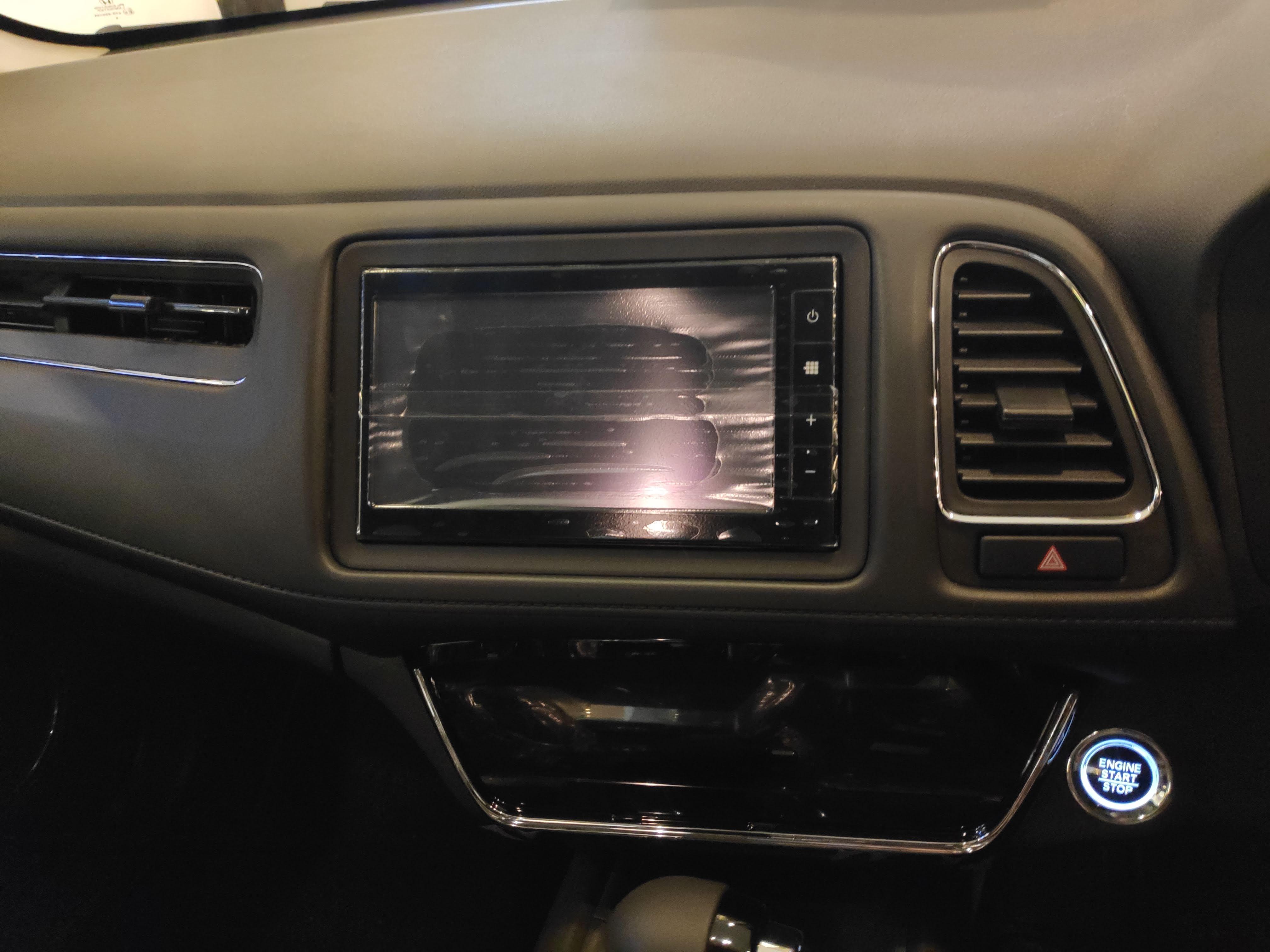 Dashboard Design - Honda HR-V 2019