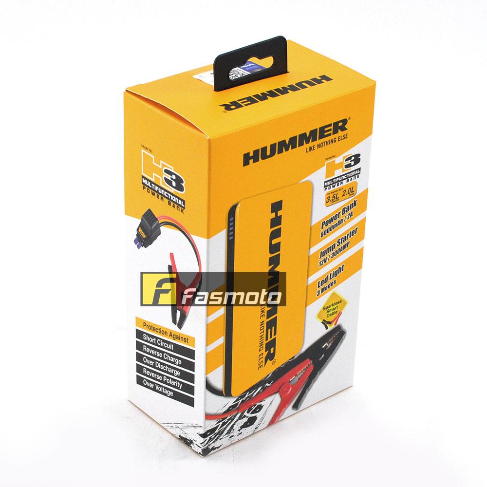Hummer H3 Power Bank Jump Starter