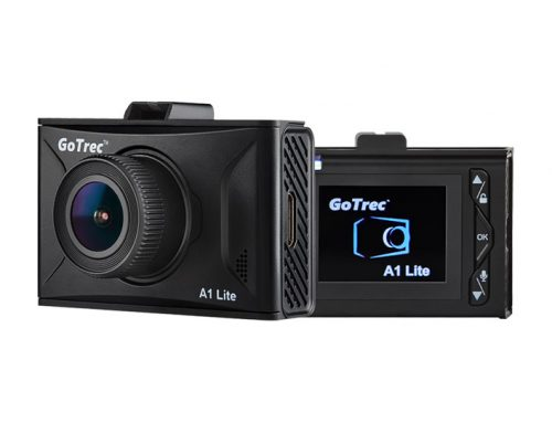 GoTrec A1 Lite Full HD Dashcam Sony IMX 323 140 Degree Wide Image Sensor