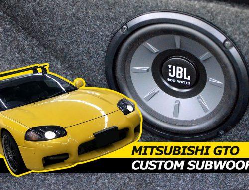 Custom 8″ Subwoofer Enclosure for the Mitsubishi GTO