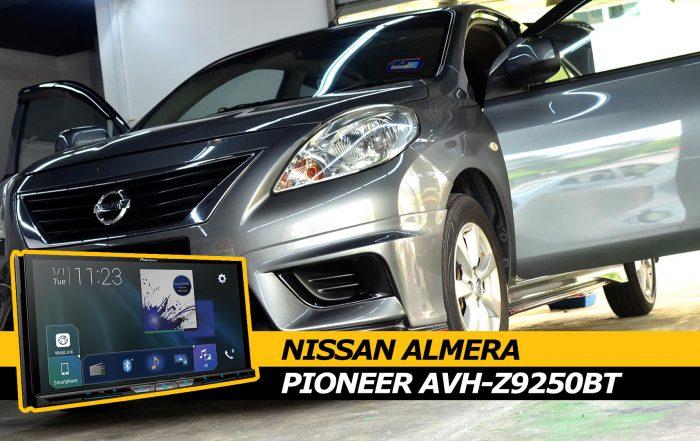 Nissan Almera Pioneer AVH-Z9250BT Cover photo
