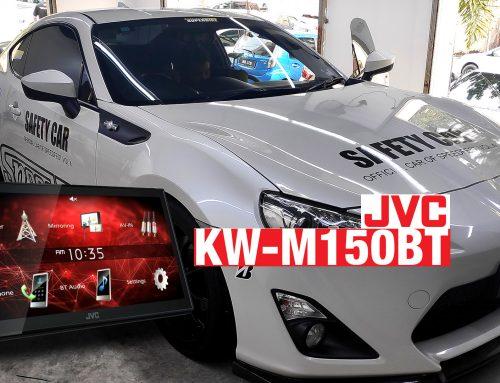 Installing JVC KW-M150BT on the Toyota GT86