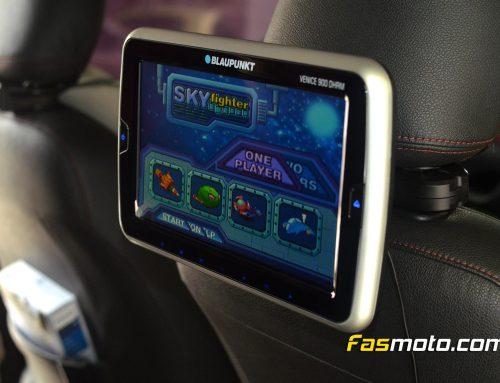 Toyota Sienta Blaupunkt Venice Headrest Monitor Install