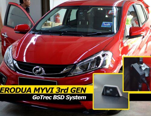 Perodua Myvi Advance (3rd Gen M300) GoTrec BSD (Blind Spot Detection System) install