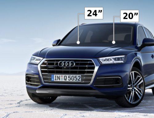 Wiper Size Guide for Audi Q5