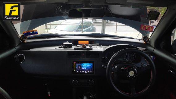 Suzuki Swift and Kenwood Upgrades
