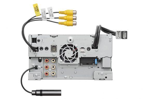 Installing the DNX9190S in the Mitsubishi Triton