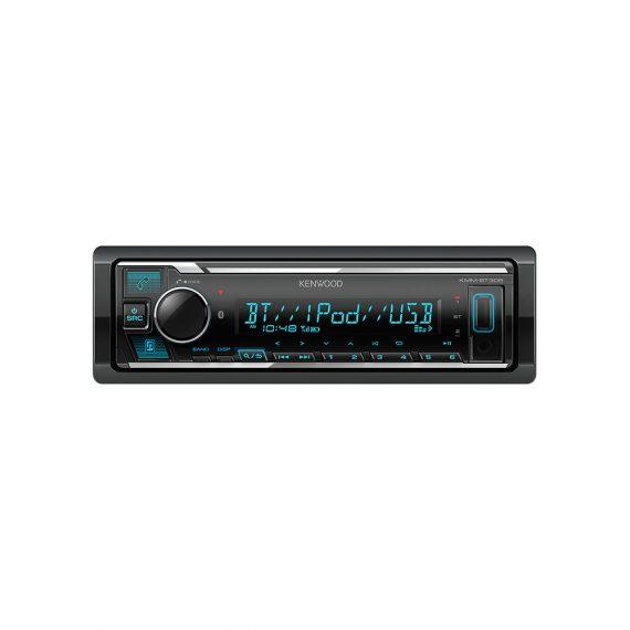 Genuine Warranty Kenwood Car Audio Malaysia KMM-BT306 Bluetooth USB Aux Receiver (No CD)