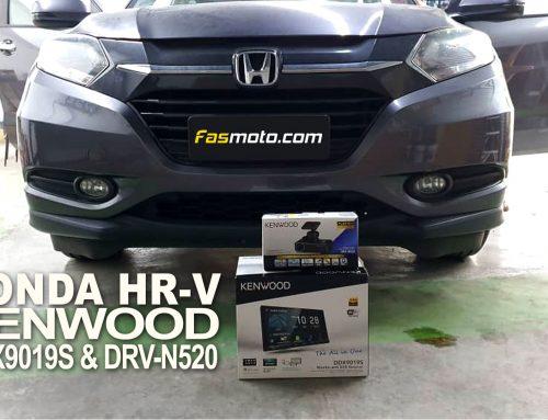 Honda HR-V Kenwood DDX9019S & DRV-N520 Install