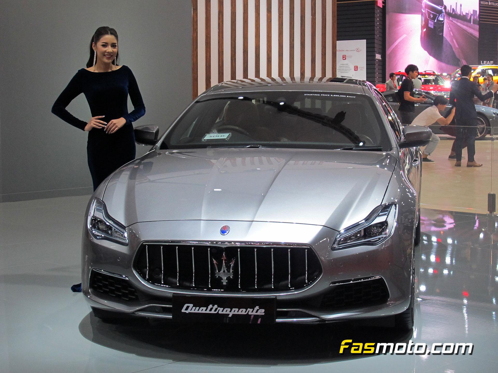 Maserti Quattroporte with model