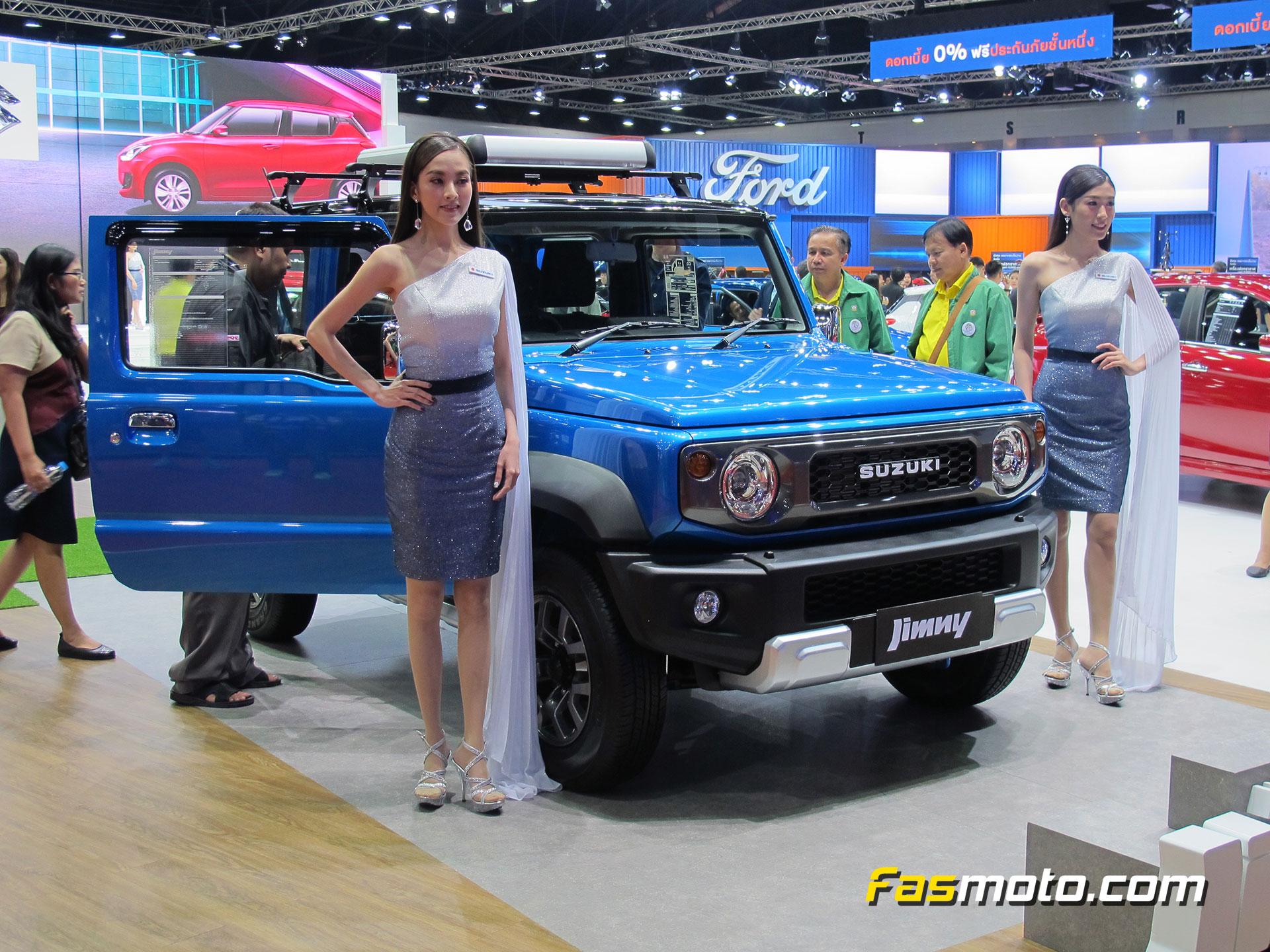 Suzuki Jimny with models