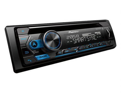 Pioneer DEH-S4250BT Single DIN SmartSync Bluetooth FLAC CD USB Shortwave Receiver