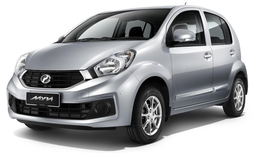 Perodua MYVI ICON 2015-2017
