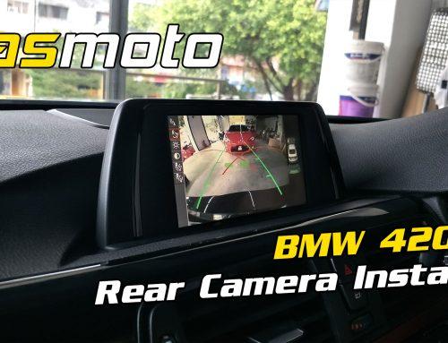 BMW 420i – 4 Series F32 Rear Camera Install
