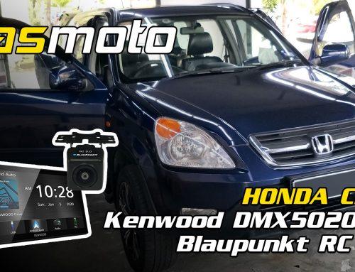 Honda CR-V 2nd Gen Kenwood DMX5020S and RC 3.0 Reverse Camera