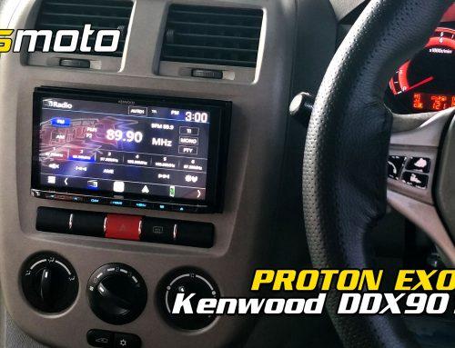 Proton Exora Kenwood DDX9019S | Exora Radio Removal