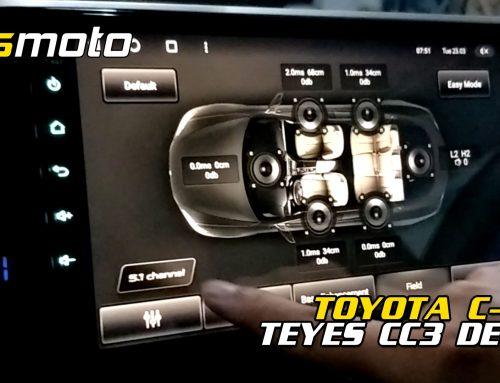 Teyes CC3 Demo in Danny's Toyota C-HR | Fasmoto x Teyes Malaysia