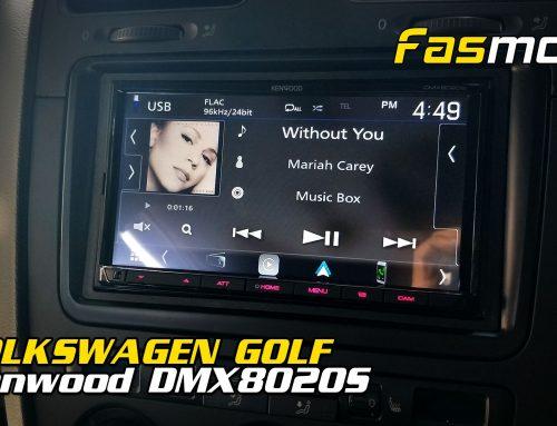 Volkswagen Golf R32 MK5 Kenwood DMX8020S install